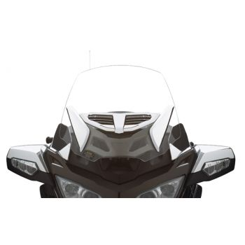 Adjustable vented windshield