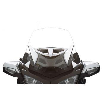Adjustable vented windshield