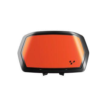 Gauge Spoiler Decal - Orange Blaze