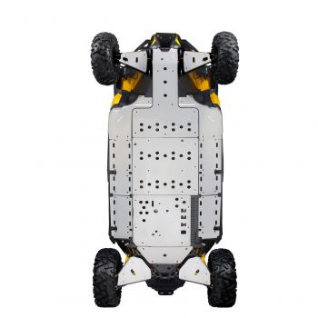 Lateral Central Skid Plates