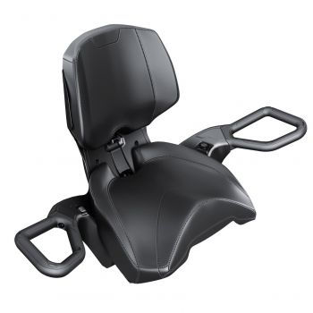 Heated Passenger Grips and Visor Outlet