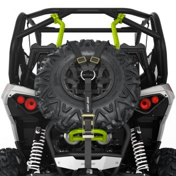 Baja-Style Spare Tire Holder