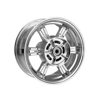 Chrome Rear Wheels