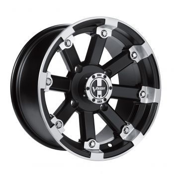 "Lockout 393 14"" rim by Vision - rear"